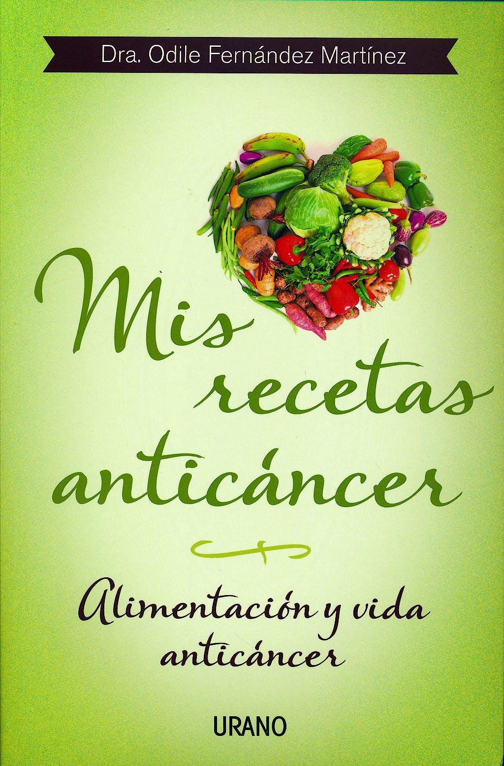 Portada del libro 9788479534370 Mis Recetas Anticancer. Alimentacion y Vida Anticancer