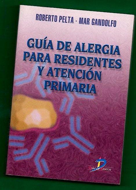 Portada del libro 9788479784775 Guía de Alergia para Residentes y Atención Primaria