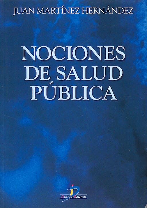 Portada del libro 9788479785628 Nociones de Salud Pública