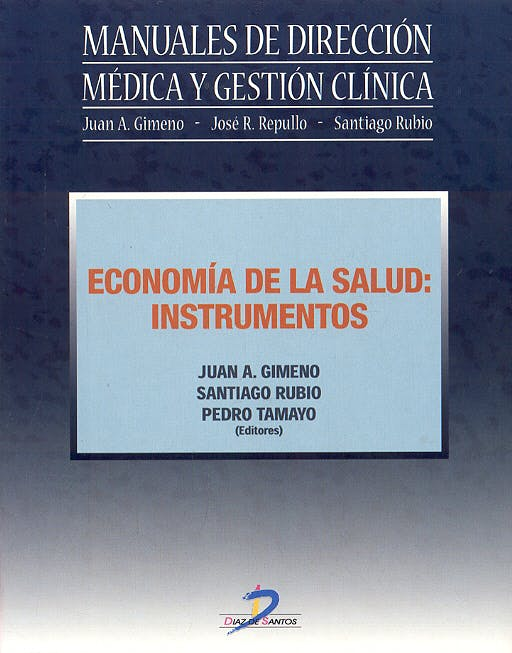 Portada del libro 9788479787332 Economia de la Salud: Instrumentos