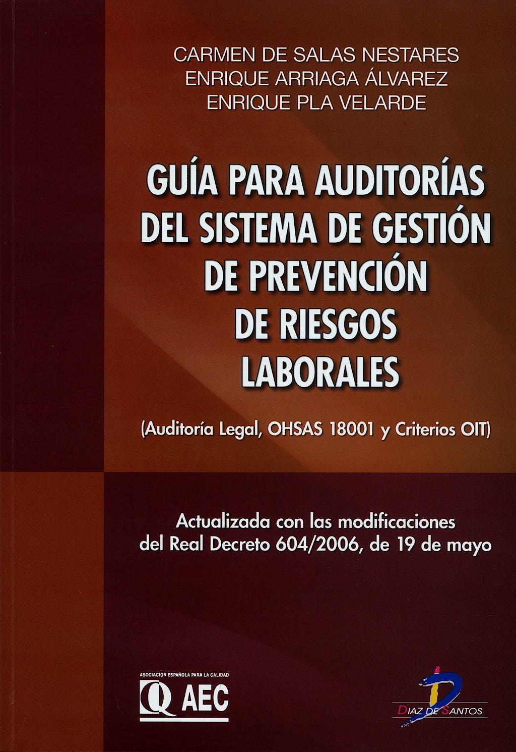 Portada del libro 9788479787882 Guia para Auditorias del Sistema de Gestión de Prevención De…
