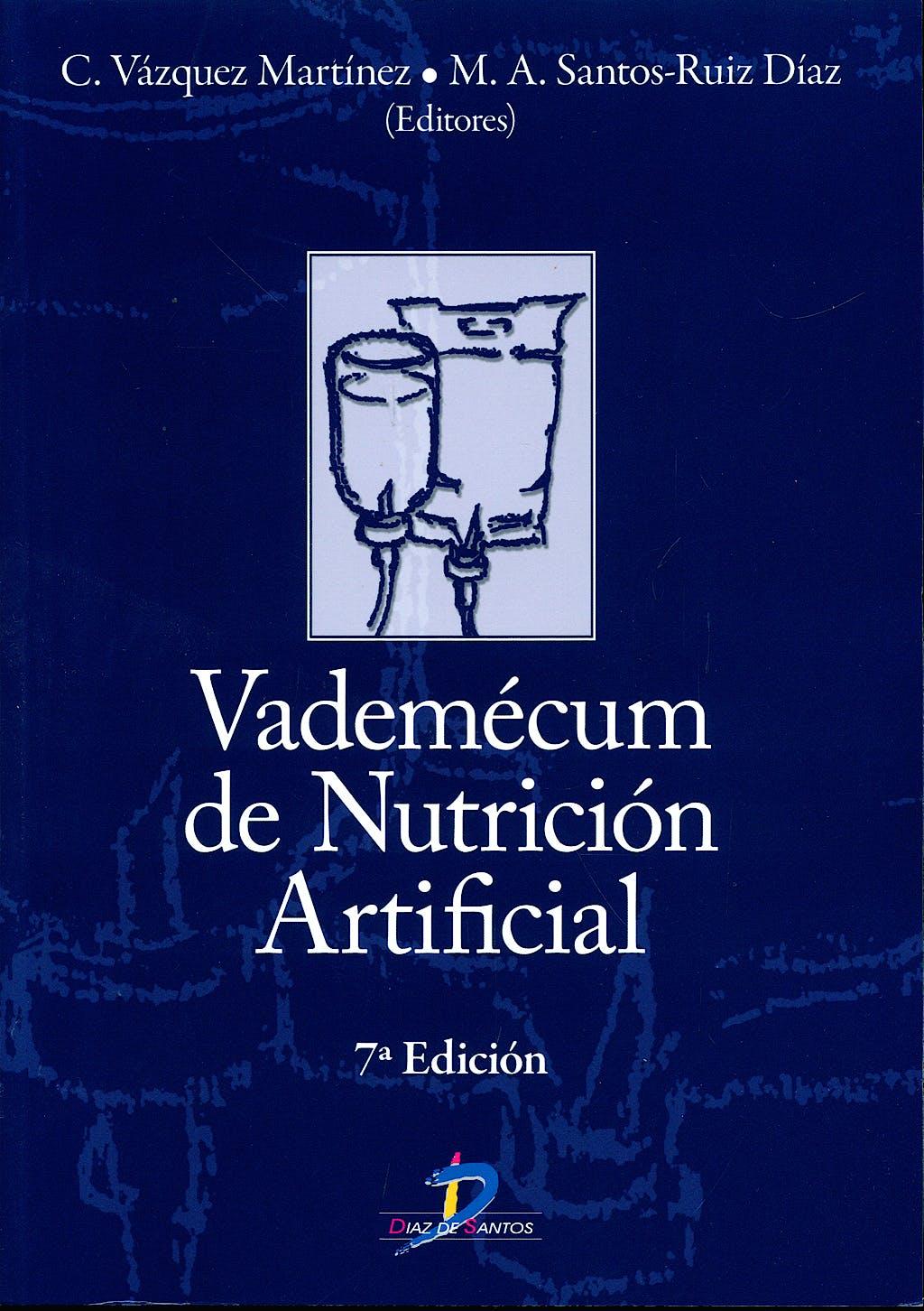Portada del libro 9788479789022 Vademecum de Nutricion Artificial