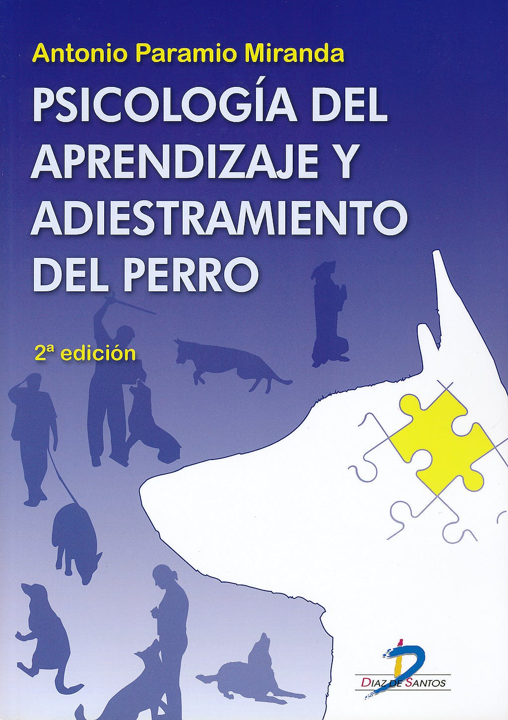 Portada del libro 9788479789619 Psicologia del Aprendizaje y Adiestramiento del Perro