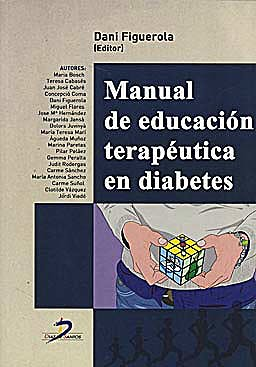 Portada del libro 9788479789848 Manual de Educación Terapéutica en Diabetes