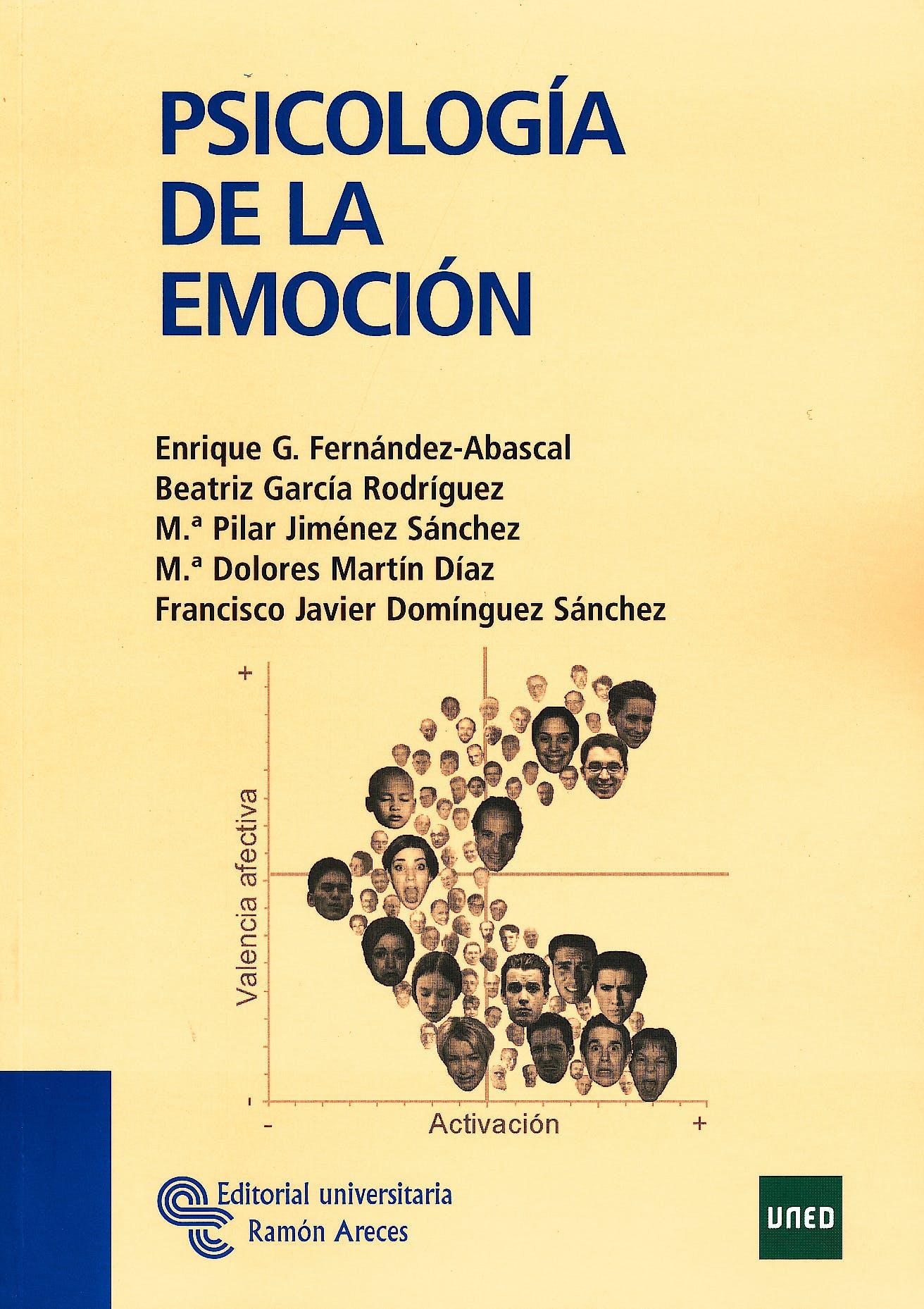 Portada del libro 9788480049085 Psicologia de la Emocion