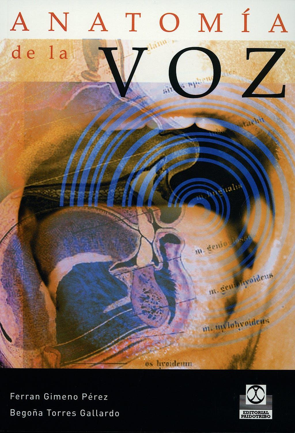 Portada del libro 9788480191364 Anatomia de la Voz