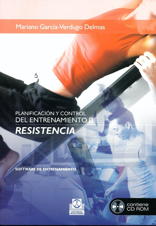 Portada del libro 9788480191425 Planificacion y Control del Entrenamiento de Resistencia + Cd-Rom