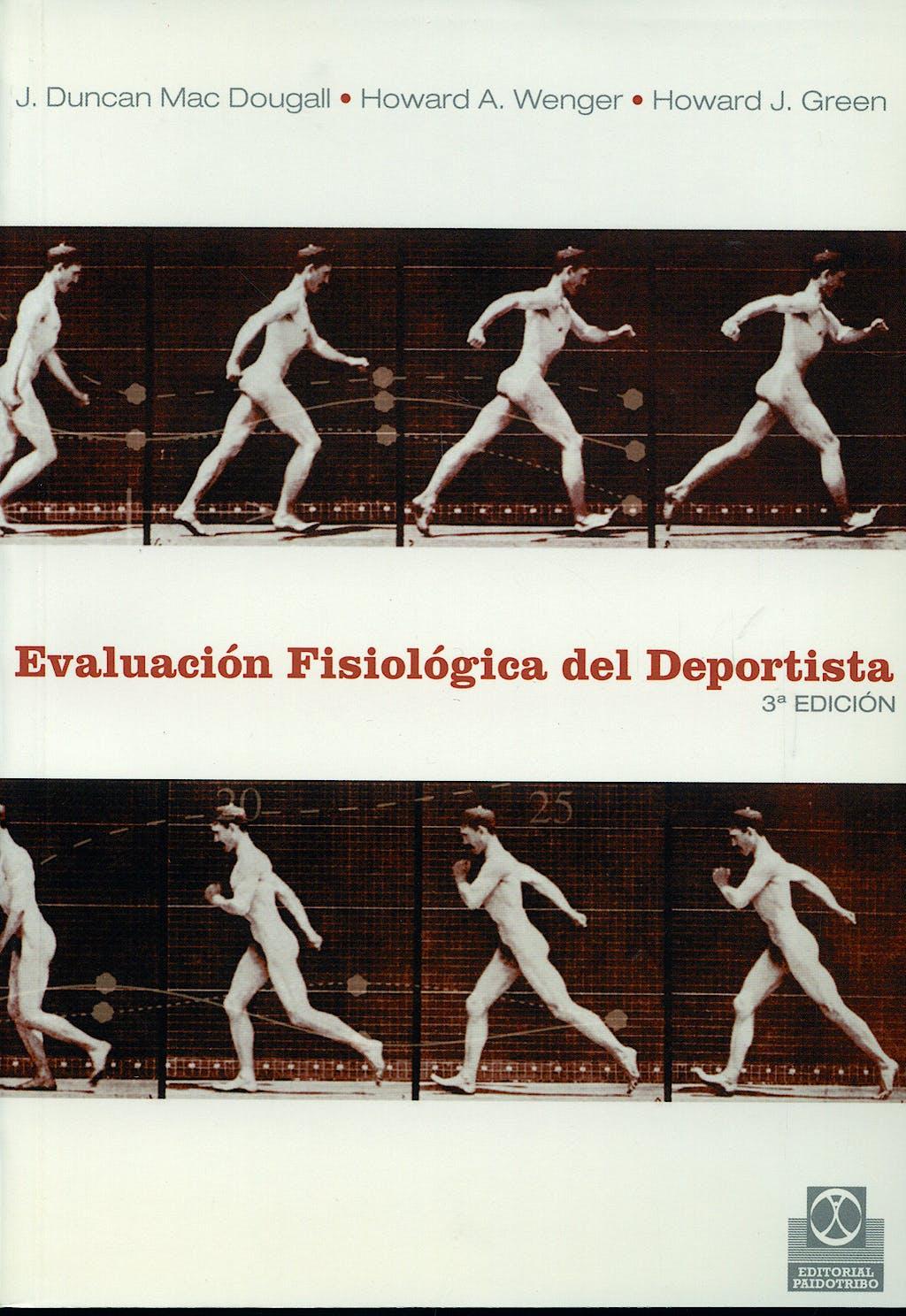 Portada del libro 9788480192361 Evaluacion Fisiologica del Deportista