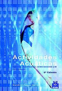Portada del libro 9788480193429 Actividades Acuaticas
