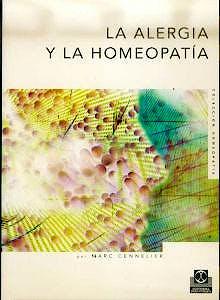 Portada del libro 9788480194037 La Alergia y la Homeopatia