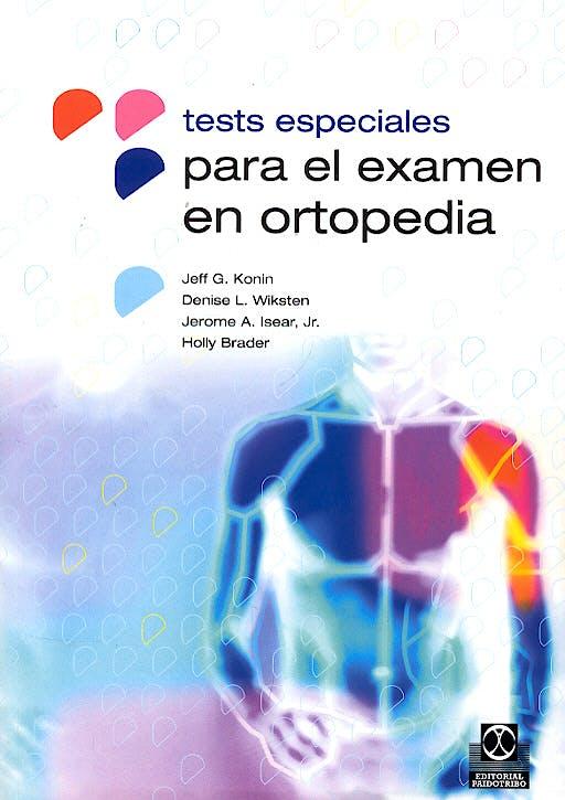 Portada del libro 9788480196406 Tests Especiales para el Examen en Ortopedia