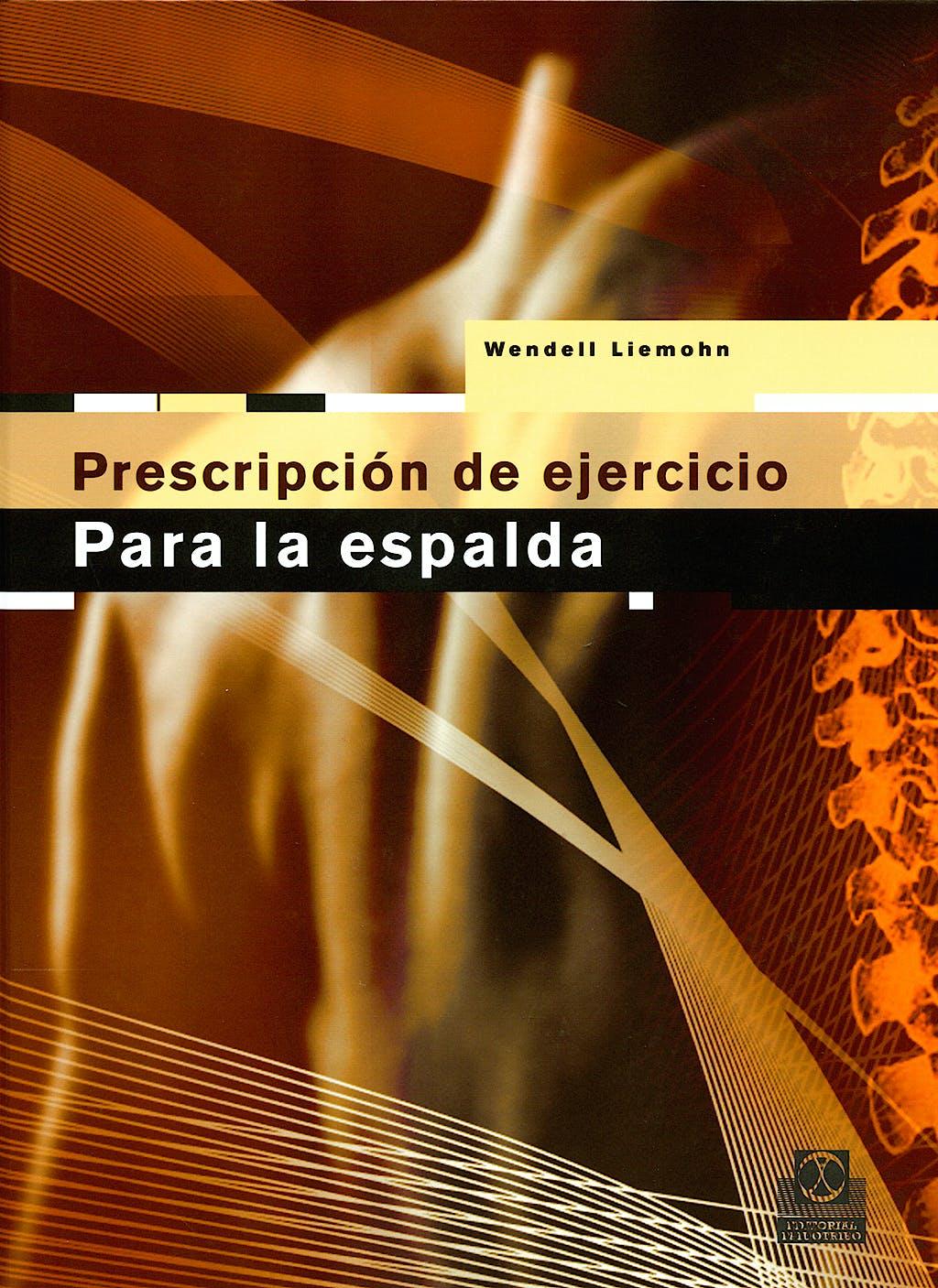 Portada del libro 9788480198547 Prescripción de Ejercicio para la Espalda