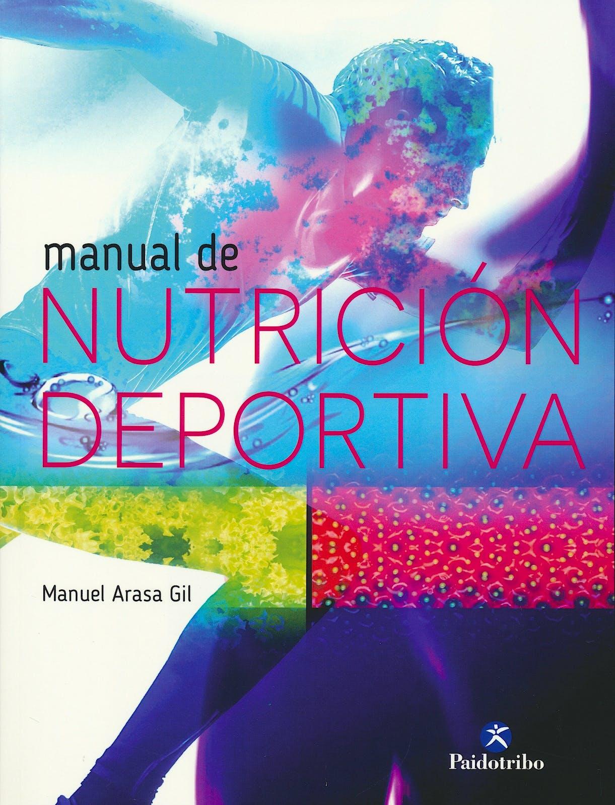Portada del libro 9788480198592 Manual de Nutrición Deportiva