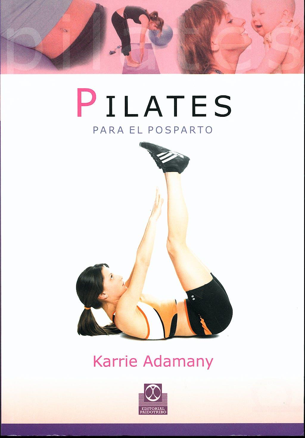 Portada del libro 9788480199575 Pilates para el Posparto