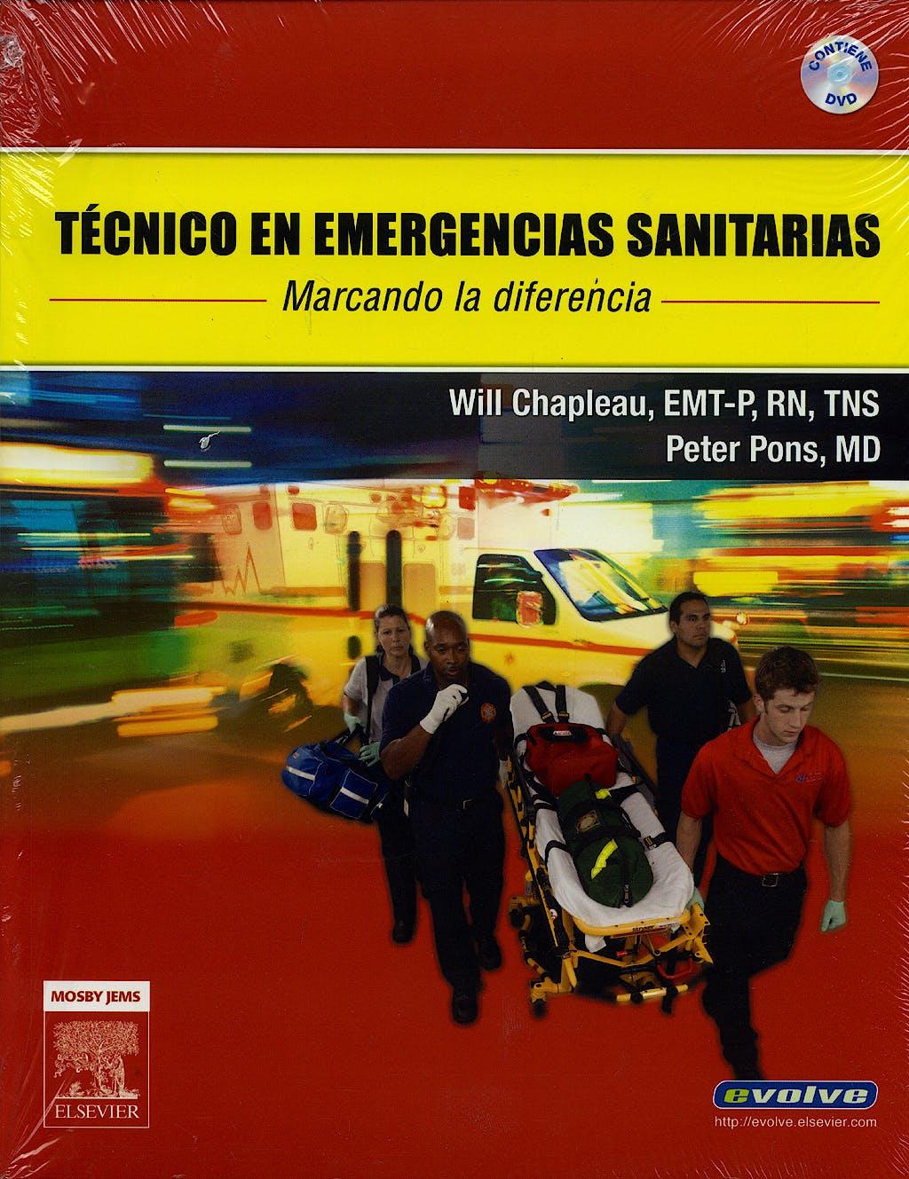 Portada del libro 9788480862998 Técnico en Emergencias Sanitarias + DVD + Evolve