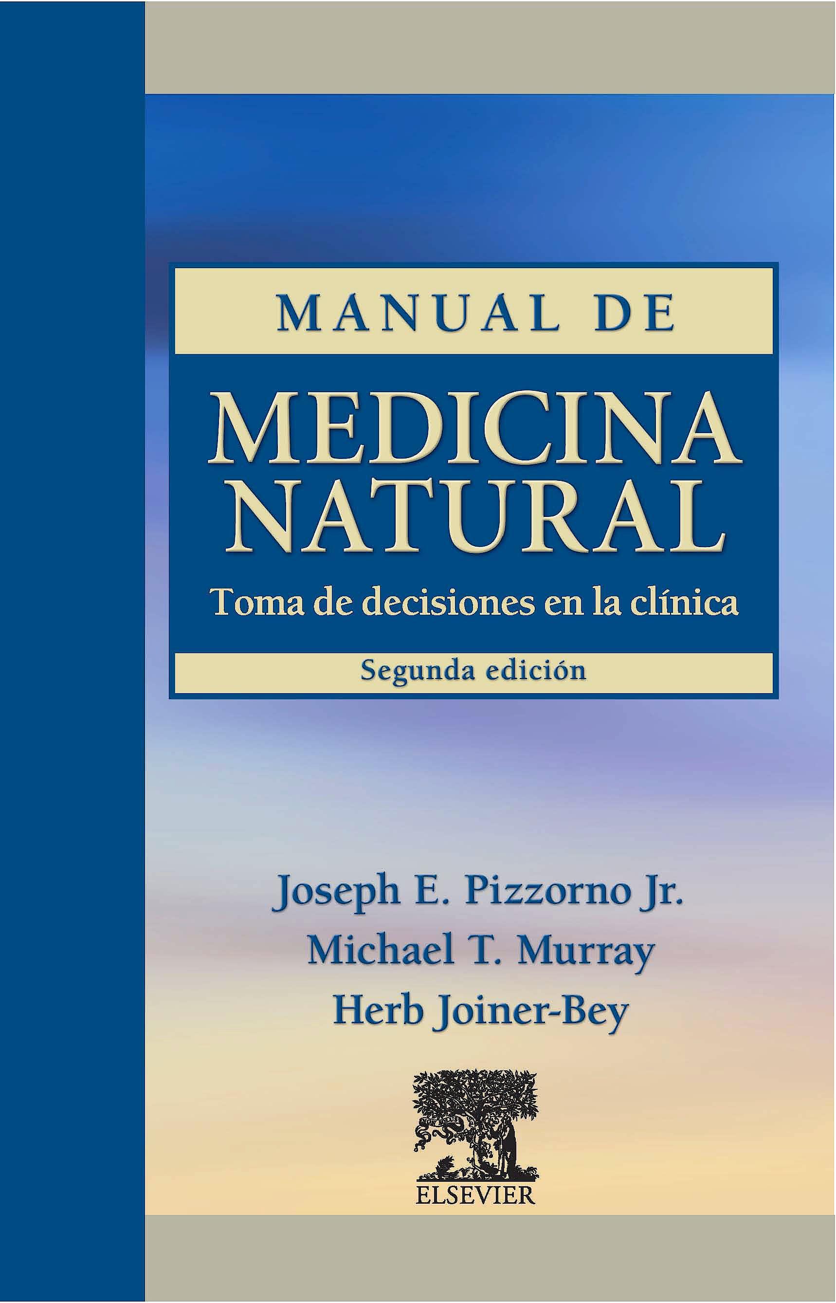 Portada del libro 9788480864664 Manual de Medicina Natural. Toma de Decisiones en la Clínica