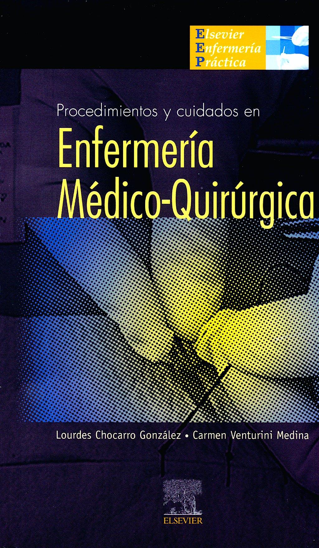 Portada del libro 9788480865906 Procedimientos y Cuidados en Enfermería Médico-Quirúrgica (POD)