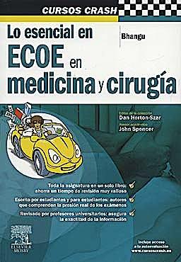 Portada del libro 9788480866682 Cursos Crash. Lo Esencial en ECOE en Medicina y Cirugía