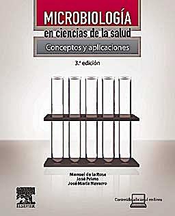 Portada del libro 9788480866927 Microbiología en Ciencias de la Salud. Conceptos y Aplicaciones + Acceso Online