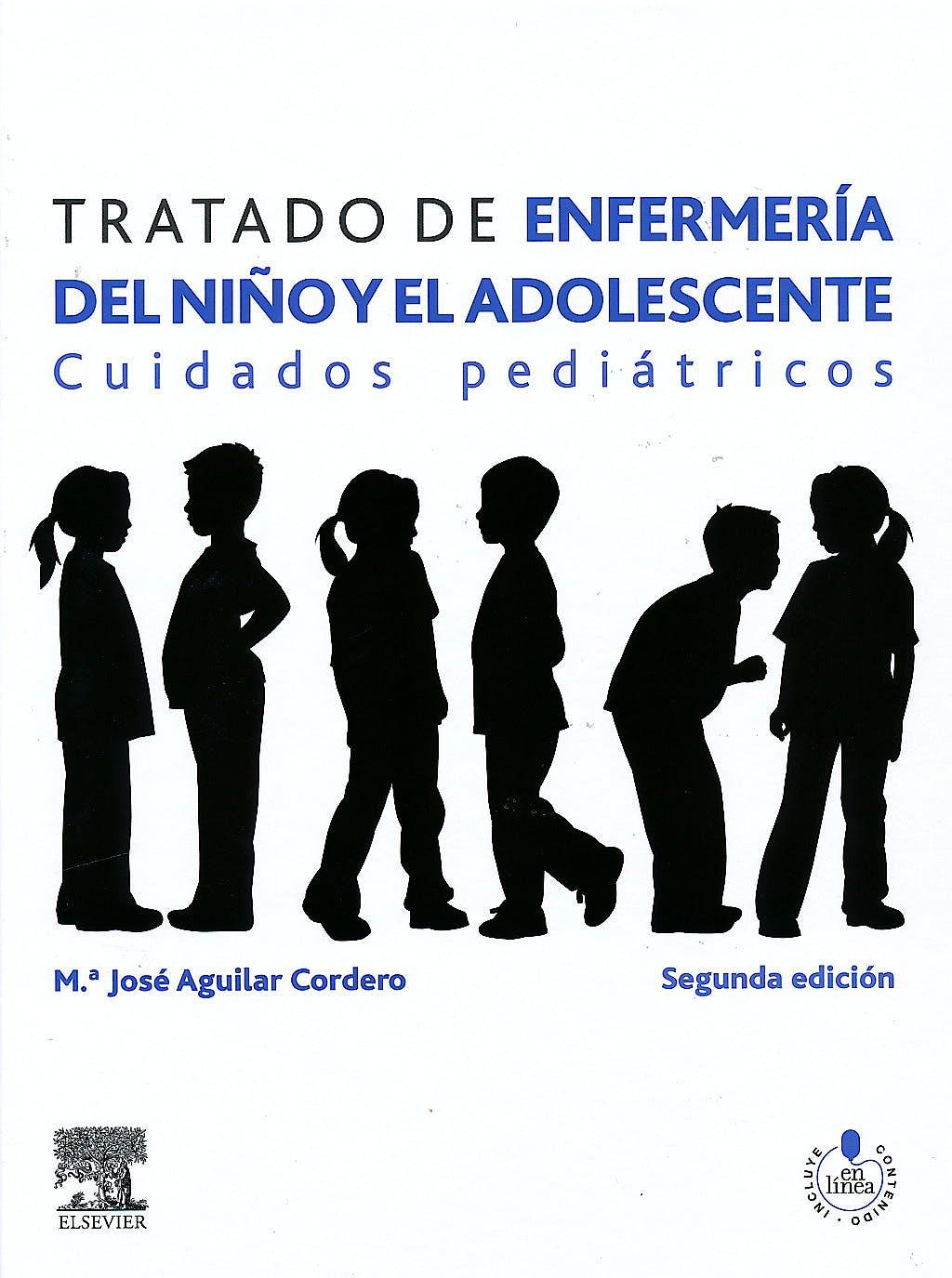 Portada del libro 9788480868624 Tratado de Enfermeria del Niño y el Adolescente. Cuidados Pediatricos