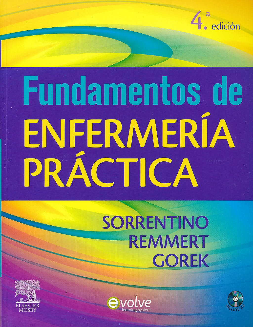 Portada del libro 9788480868860 Fundamentos de Enfermería Práctica + CD
