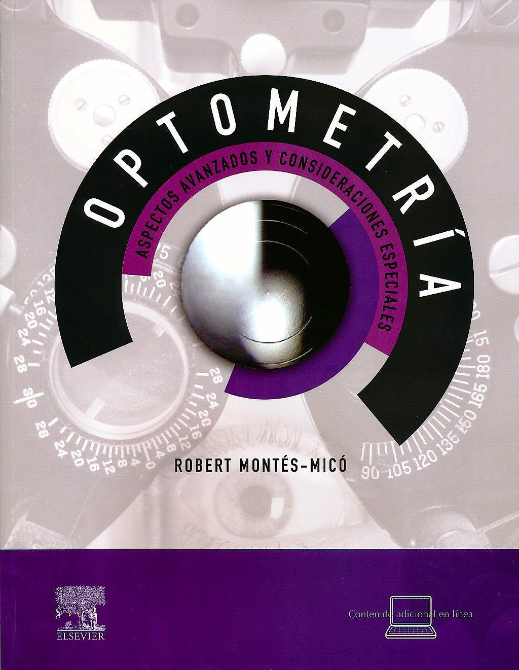 Portada del libro 9788480868907 Optometría. Aspectos Avanzados y Consideraciones Especiales + Acceso Online