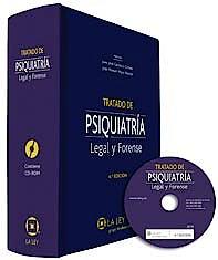 Portada del libro 9788481267730 Tratado de Psiquiatria Legal y Forense + Cd-Rom