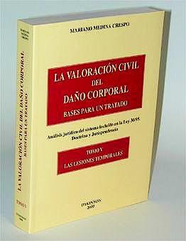 Portada del libro 9788481556070 La Valoracion Civil del Daño Corporal. Bases para un Tratado, Vol. 5