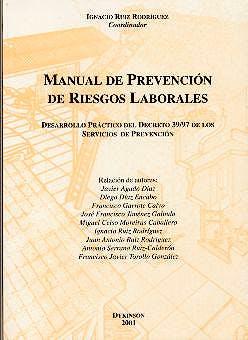 Portada del libro 9788481557954 Manual de Prevencion de Riesgos Laborales