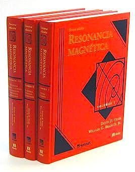 Portada del libro 9788481744514 Resonancia Magnética, 3 Vols.