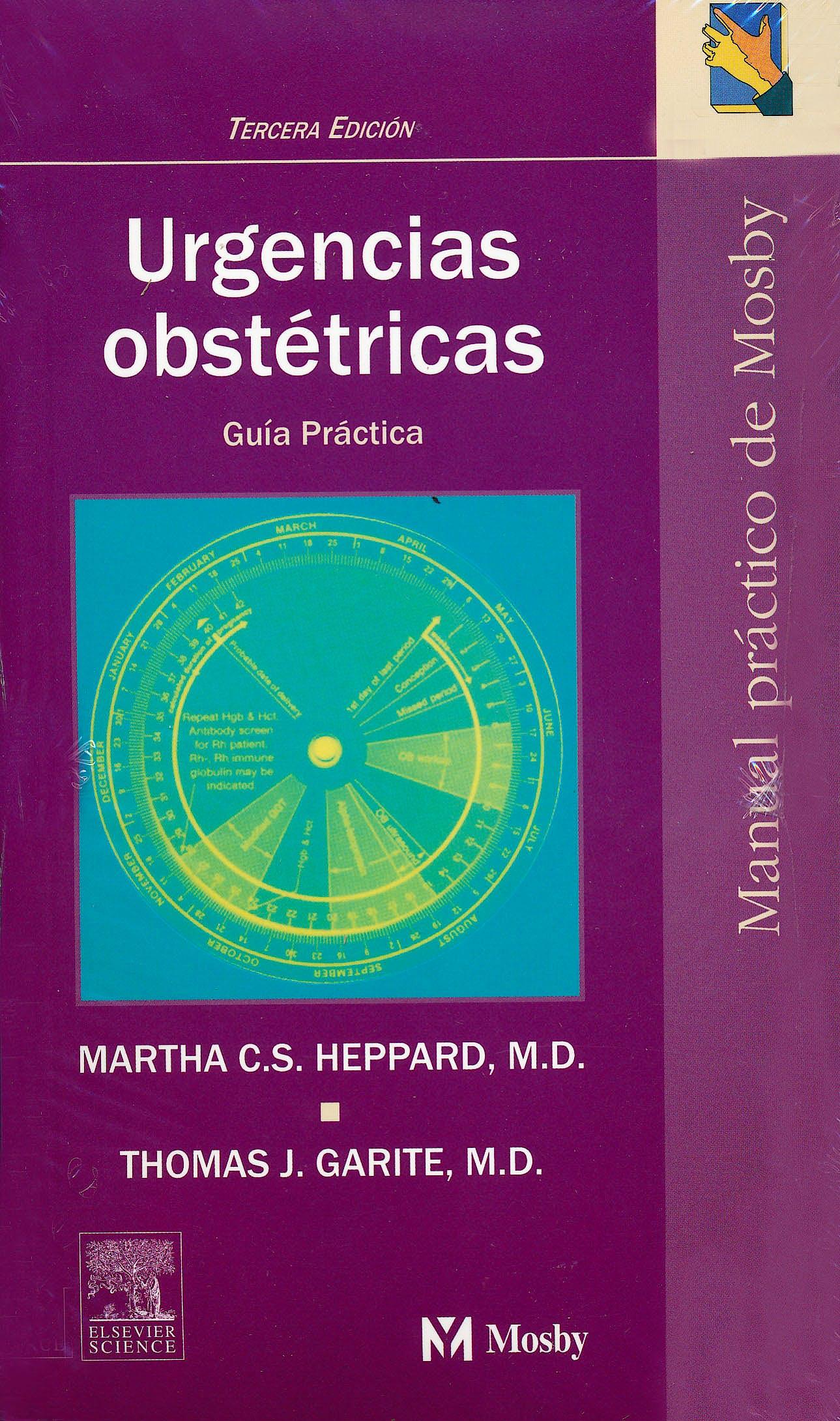 Portada del libro 9788481746549 Urgencias Obstetricas. Guia Practica