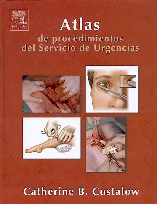 Portada del libro 9788481748635 Atlas de Procedimientos del Servicio de Urgencias