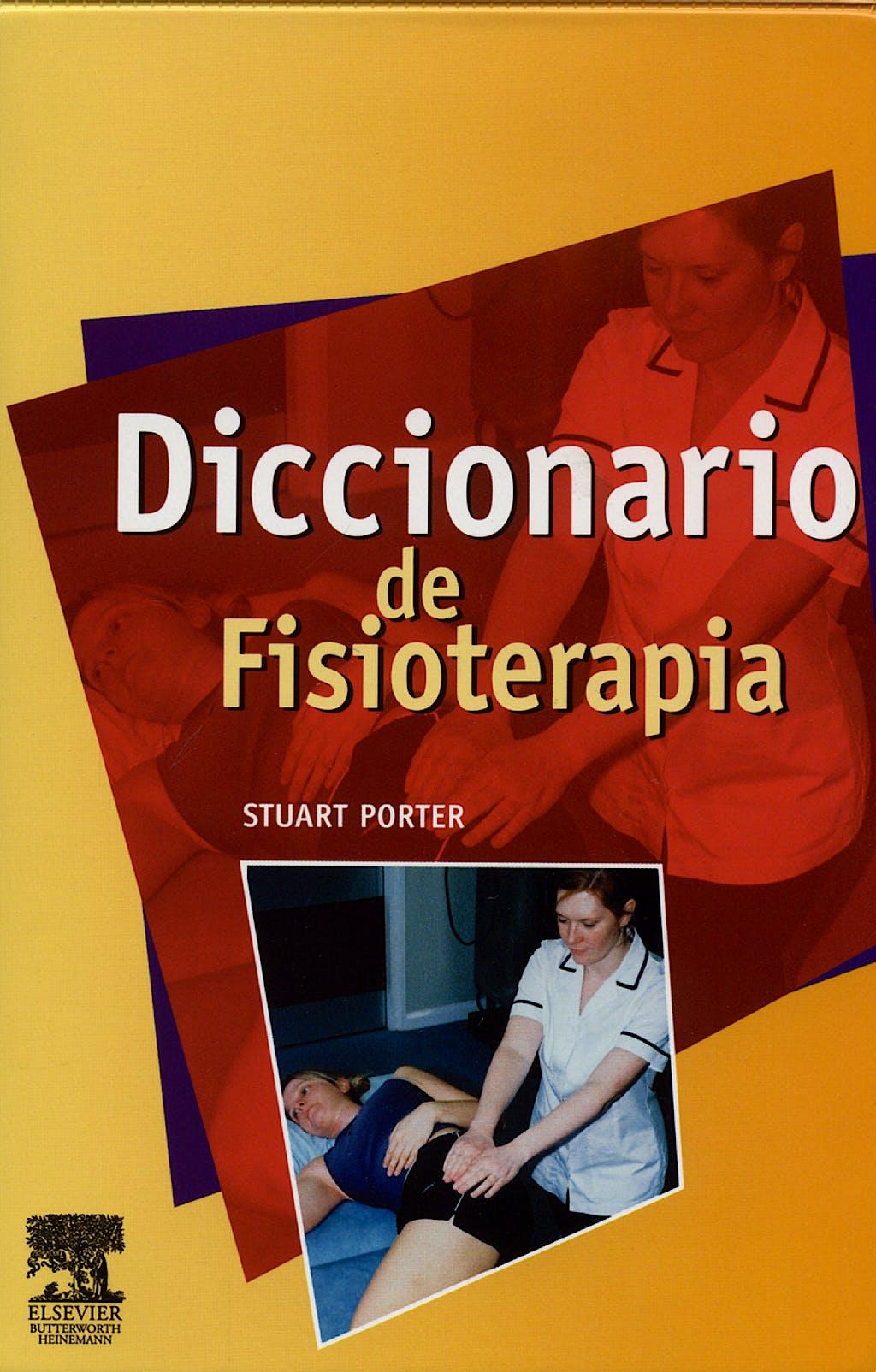 Portada del libro 9788481749922 Diccionario de Fisioterapia