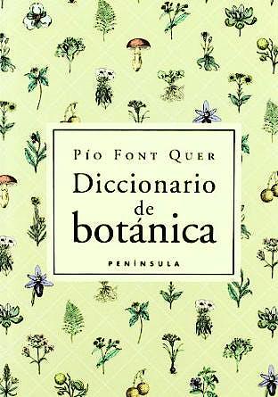 Portada del libro 9788483073001 Diccionario de Botanica