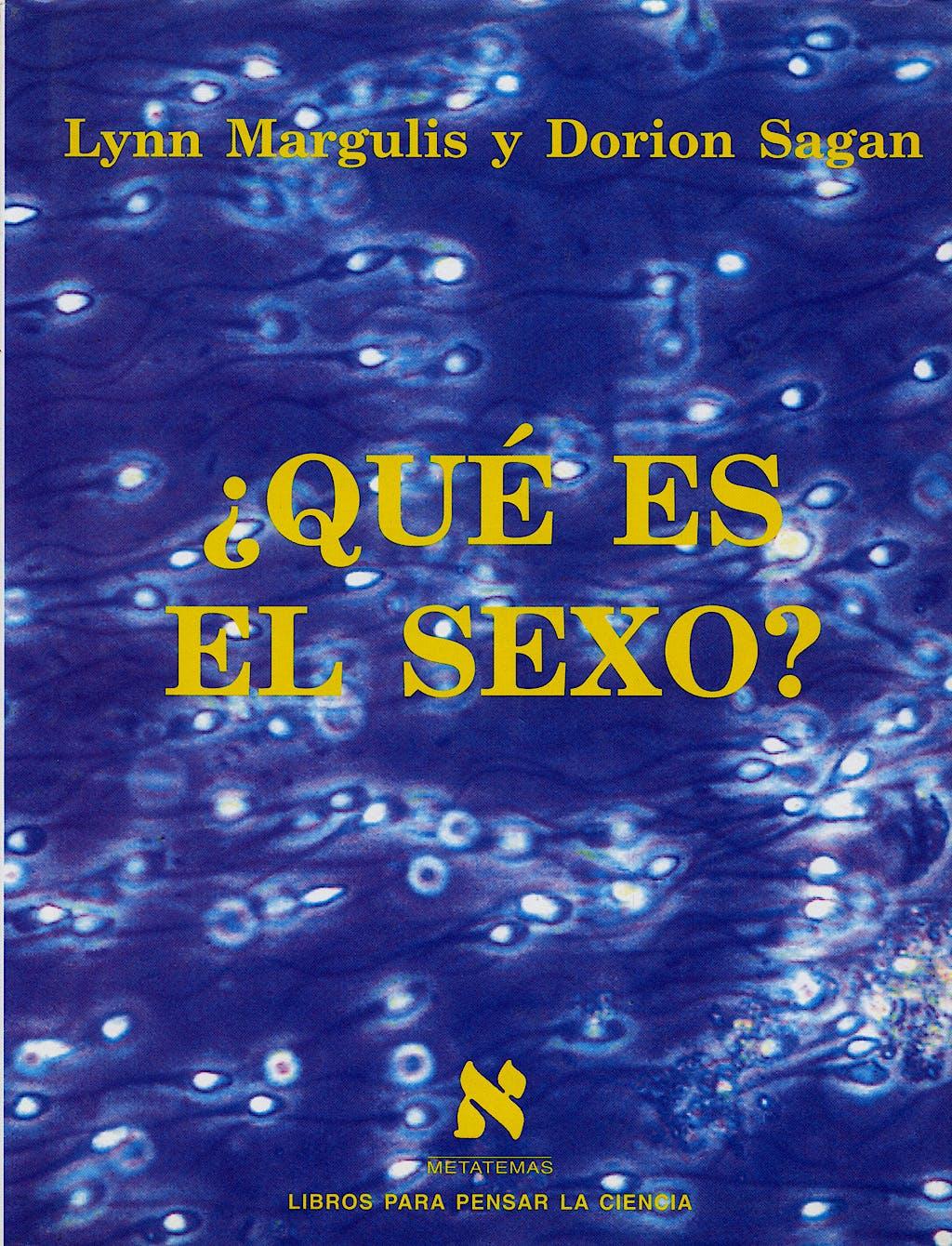 Portada del libro 9788483106082 ¿Que es el Sexo?