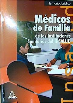 Portada del libro 9788483117095 Temario Juridico. Medicos de Familia. Insalud
