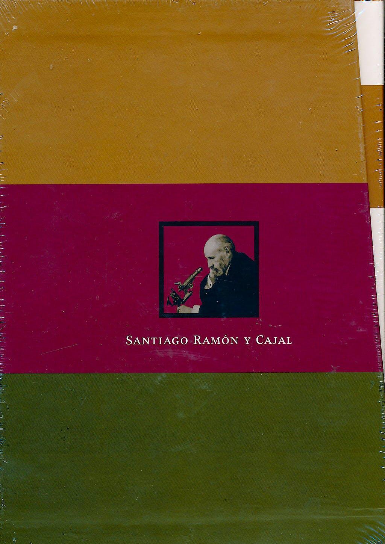Portada del libro 9788483219560 Estuche Ramon y Cajal. Contiene: Mi Infancia y Juventud; Charlas de Cafe; Fotografia de los Colores