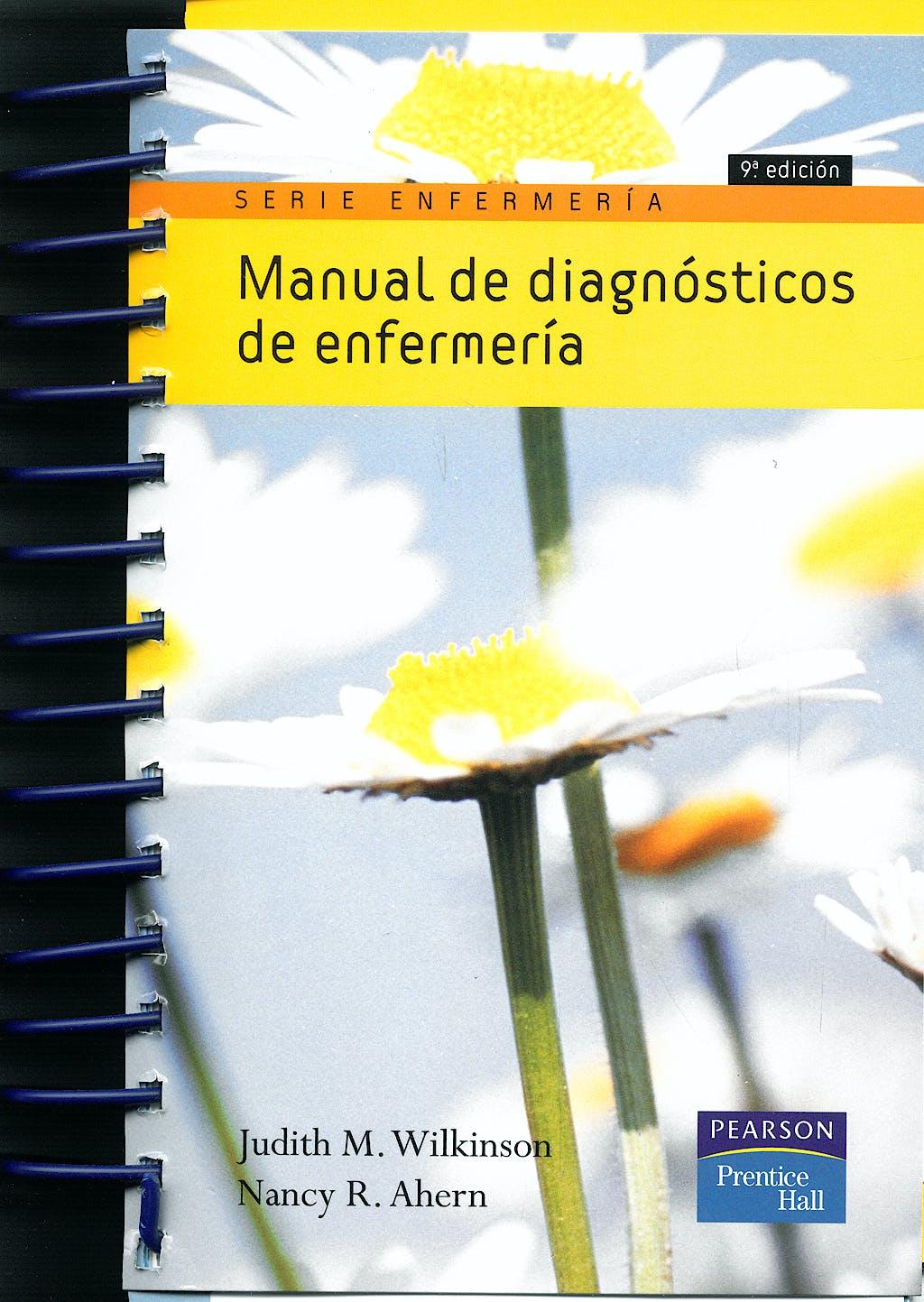 Portada del libro 9788483224175 Manual de Diagnosticos de Enfermeria