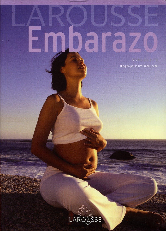 Portada del libro 9788483328651 Larousse Embarazo. Vivelo Dia a Dia