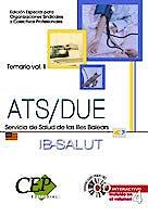 Portada del libro 9788483687390 Temario Vol. Ii. Opos. Ats/due Serv. Salud Illes Balears. Ed. Especial