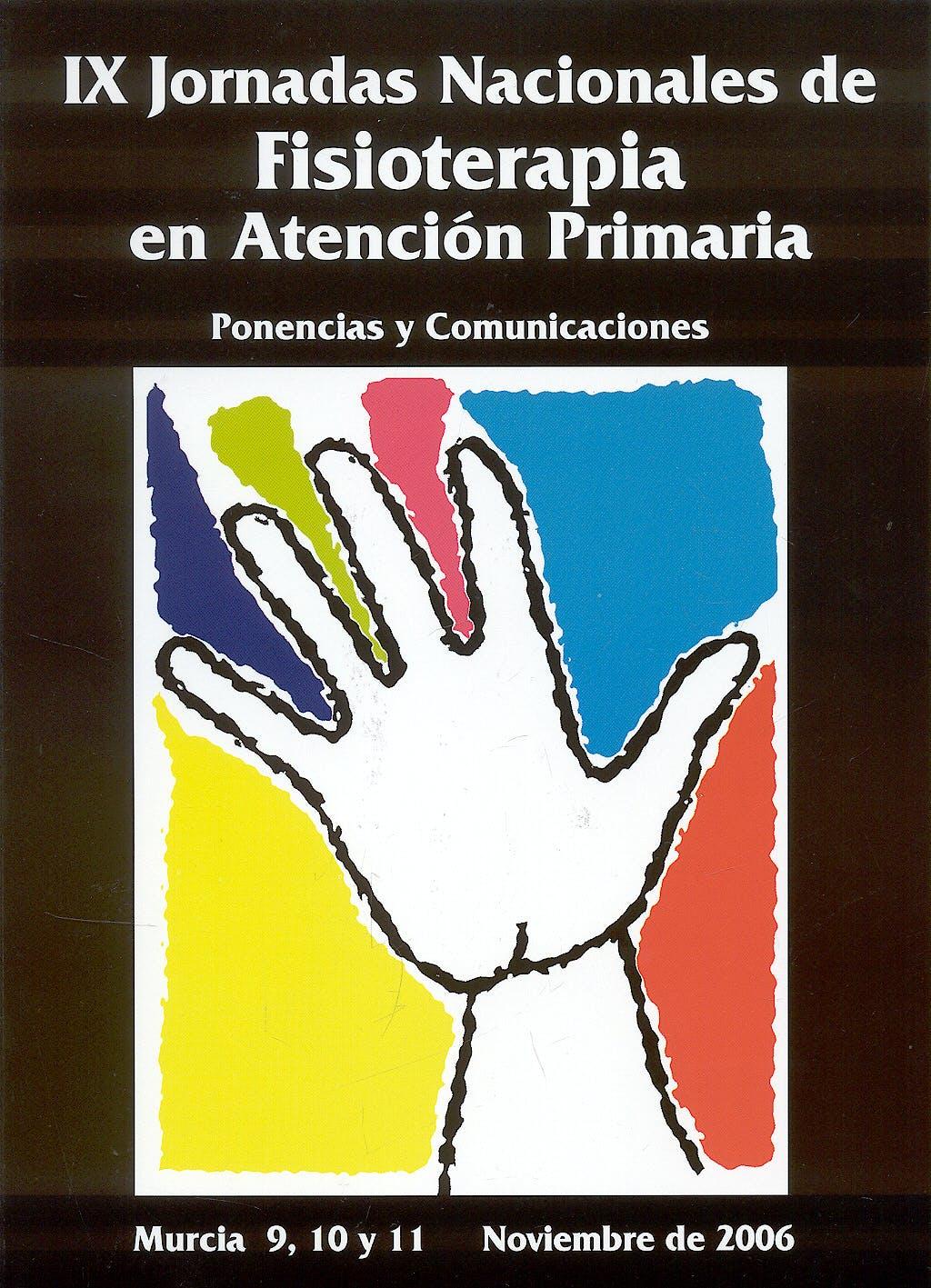 Portada del libro 9788483716434 Ix Jornadas Nacionales de Fisioterapia en Atencion Primaria. Ponencias y Comunicaciones