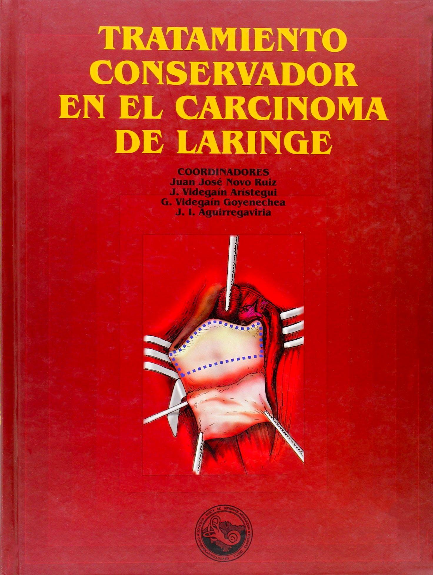 Portada del libro 9788483733882 Tratamiento Conservador en el Carcinoma de Laringe