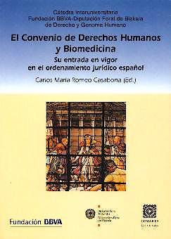 Portada del libro 9788484446255 El Convenio de Derechos Humanos y Biomedicina
