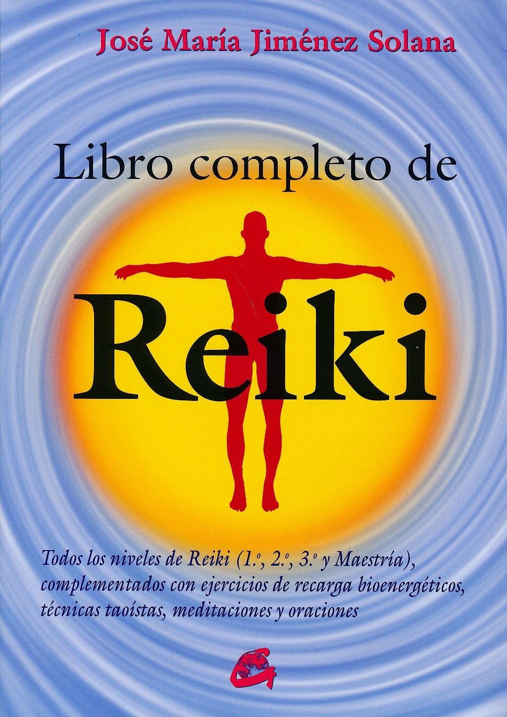 Portada del libro 9788484455486 Libro Completo de Reiki