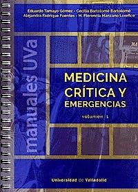 Portada del libro 9788484489436 Medicina Crítica y Emergencias, 2 Vols.