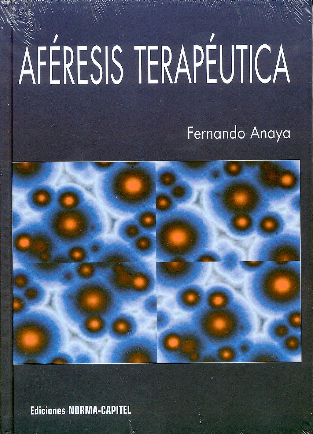 Portada del libro 9788484510277 Aferesis Terapeutica
