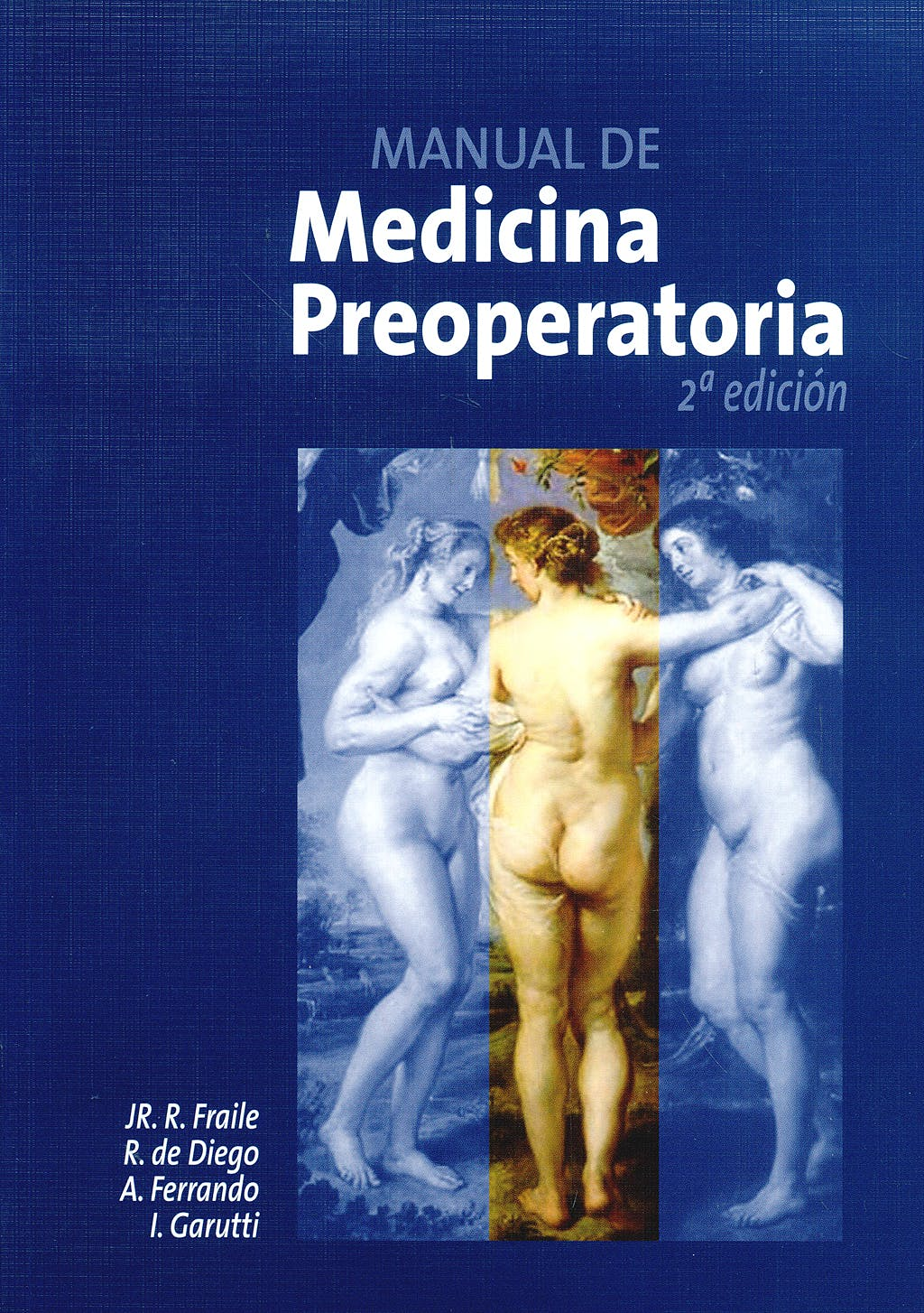 Portada del libro 9788484732709 Manual de Medicina Preoperatoria