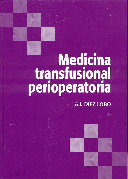 Portada del libro 9788484733614 Medicina Transfusional Perioperatoria