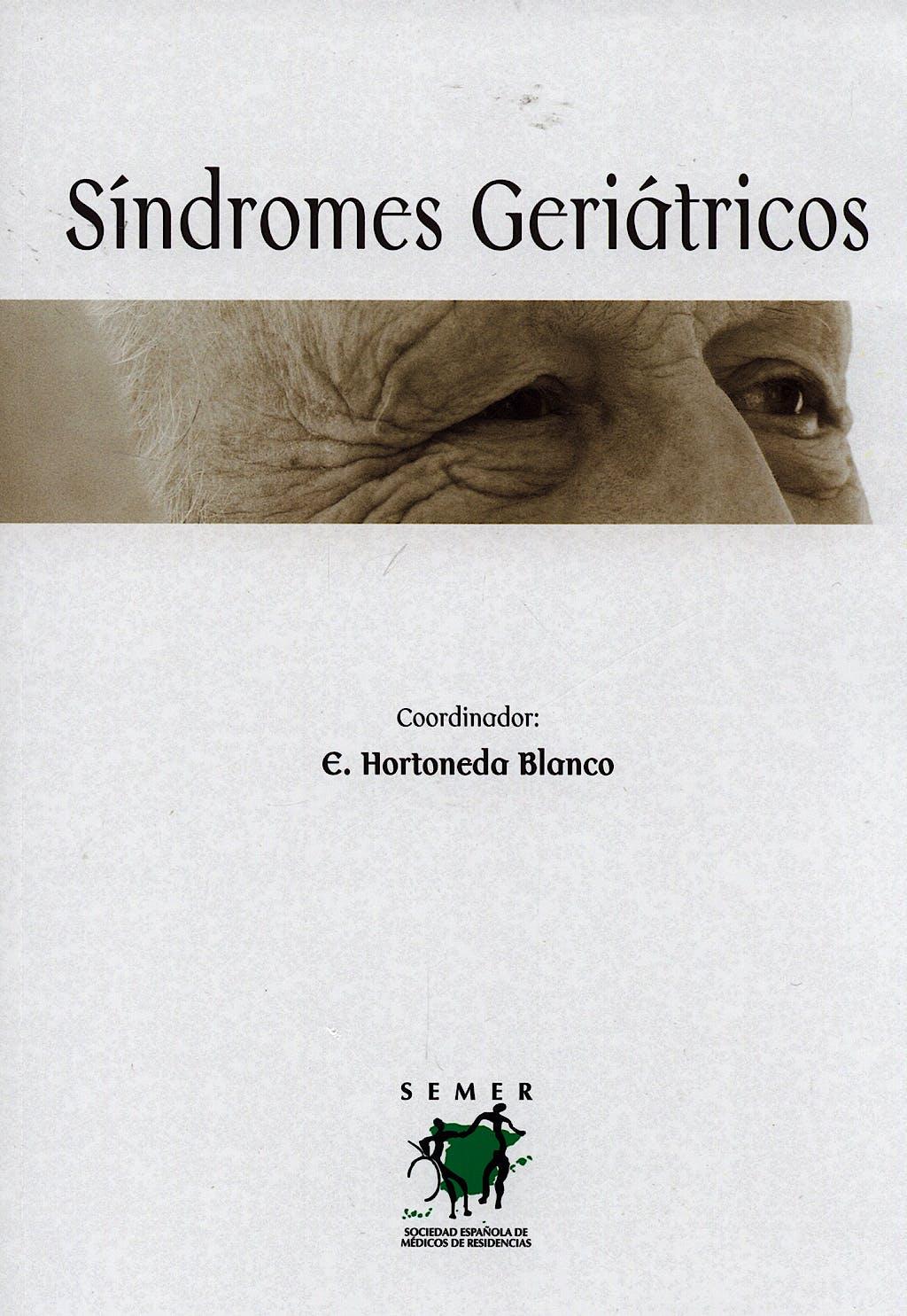Portada del libro 9788484734833 Sindromes Geriatricos