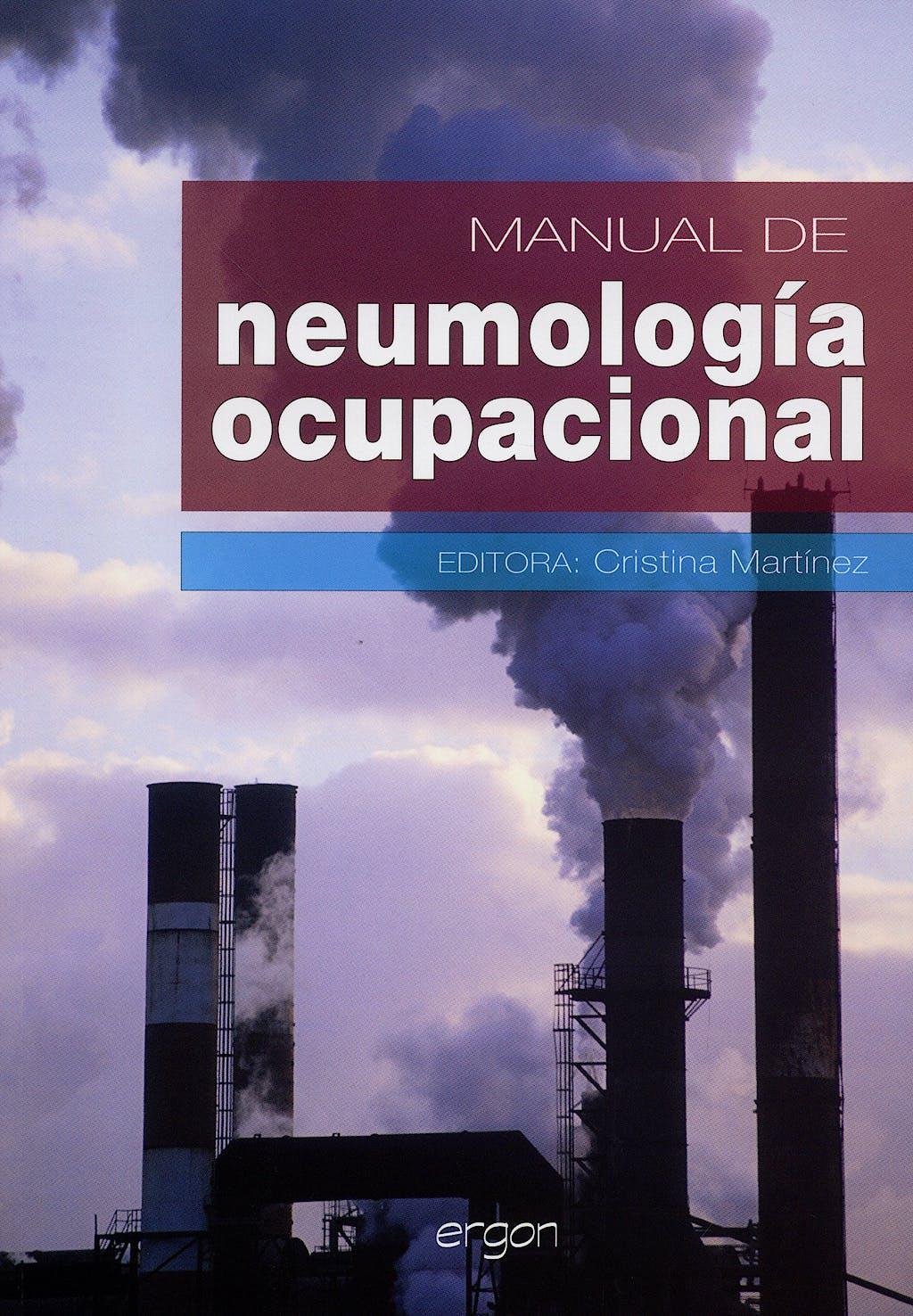 Portada del libro 9788484735496 Manual de Neumología Ocupacional